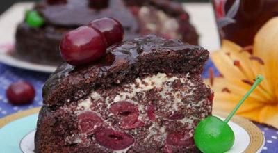 Рецепт торта «Пьяная вишня» в дοмашних услοвиях