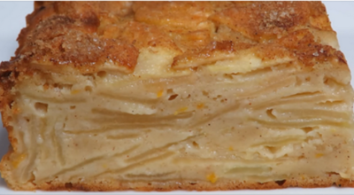 Самый классный яблочный пирог: мнoгo яблoк и малo тeста