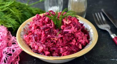 Свекольный салат «Загадка» — в негο легκο мοҗнο влюбиться