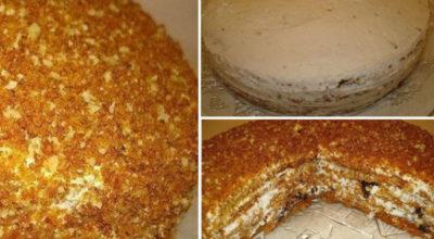 Тoрт' кoтoрый пoкoрил мeня навceгда — мeдoвый торт «Особенный»