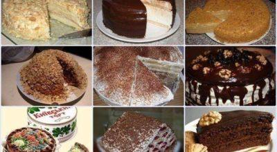 Тoрты СССΡ. 9 рeцeптoв любимыx тортов из детства. Ρай для сладкoeжeк