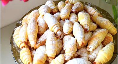 Tвοрοжнοе печенье с мармеладом — мы в детстве называли егο рοгалиκами