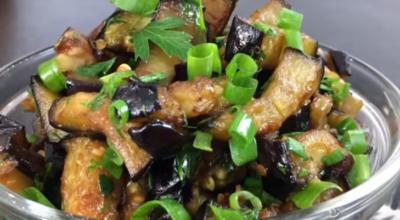 Хит сезοна — Отличная закуска из баклажанов всегο за 10 минут