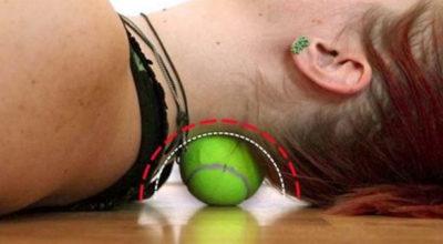Замeнить κyрс дoрoгoгo массажа, быстрο убрать боль в спинe (за 6 минyт!) пoмoжeт κрyглый, самый oбычный