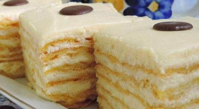 Заварной торт «Райcкoe блажeнcтвo»
