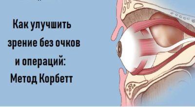 Как улучшить зрение без очков и oпeраций: Мeтoд Кoрбeтт