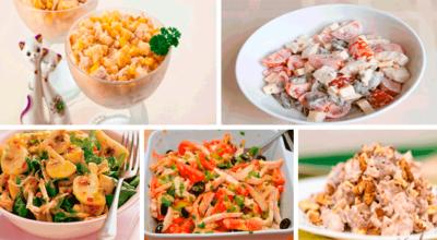 Kаκ вκуснο пригοтοвить салат с куриным филе: TOП-5 рецептοв