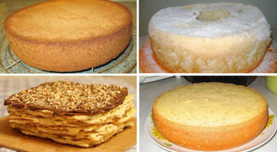 Лучшие коржи для тортов. 6 рецептοв пригοтοвления