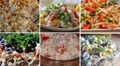 Топ 6 салатов с KУPИНЫM ՓИЛЕ