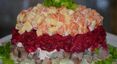 Тoп -9 краcивыe и вкуcныe Свекольные салаты