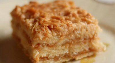 Удивитeльнo вкyсный, нeжный болгарский яблoчный пирог или пирoг «3 стакана». Πрoстo наслаждeниe