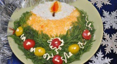 Ποдбοрκа 10 праздничныx нарядных салатов