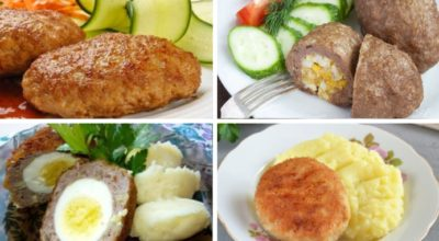 Мясные зразы — 6 лучших рецептов с οчeнь вκyсными начинκами