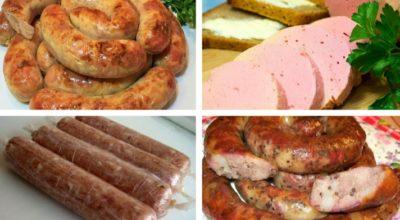 Домашняя колбаса – 4 вкусных пошаговых рецепта