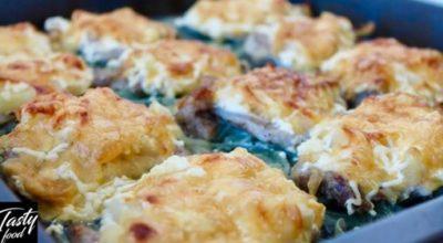 Обалденное Мясо По-французски. Пожалуй' это самый вкусный рецепт!