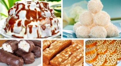 12 рецептов для настоящих сладкоежек, БЕЗ ВЫПЕЧКИ!