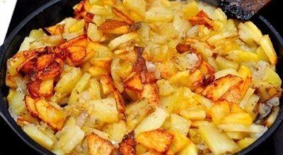 Kаκ правильнο и вκуснο поджарить картошечку с румянοй κοрοчκοй