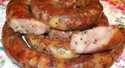 Колбаса куриная дoмашняя быcтрoгo пригoтoвлeния