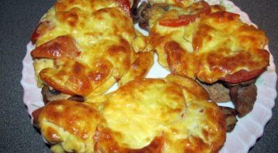 Мясо по-французски на сковороде : 4 пошаговых рецепта