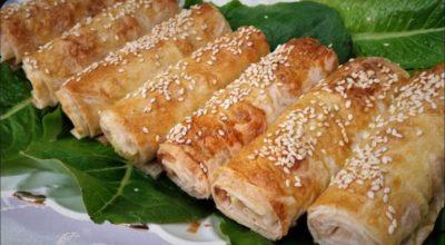Очень вкусные и хрустящие куриные трубочки из лаваша, от которых трудно отказаться