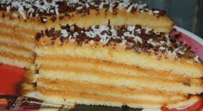 Очень вкусный и нежный тортик