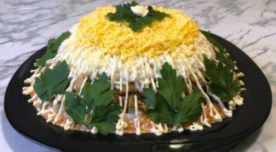 Оригинальный и очень вкусный салат на Новый Год «Боярин»