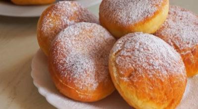 Пушистые и вкусные пончики за 15 минут
