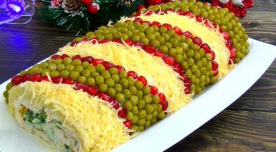 Рецепт изумительно красивого и вкусного салата на новогодние праздники «Король стола»