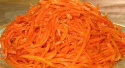 Самая вкусная морковь по-корейски — проверенный рецептик