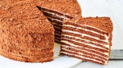 Шоколадный торт на сковороде. Нежнее нежного