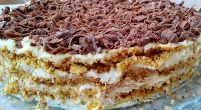 Торт без духовки без печенья. Обалденно вкусный торт