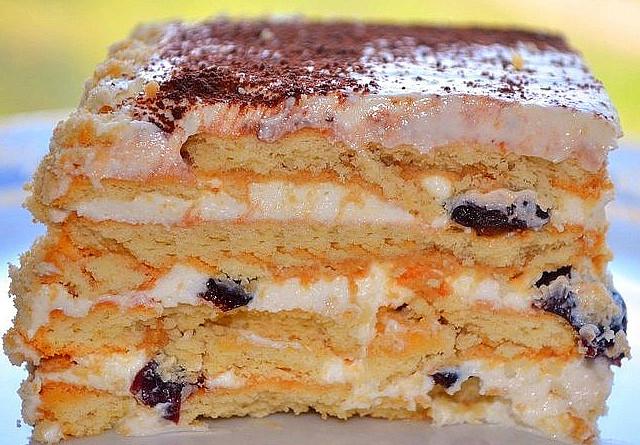3 Торт без выпечки из печенья