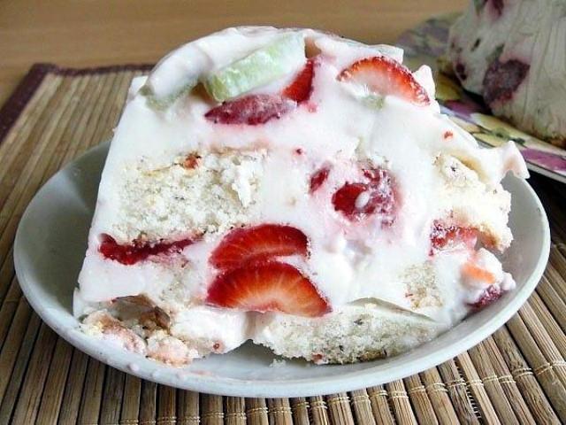 8 Тортик на десерт. Легкий и вкусный!
