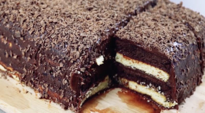 Вкусный Трюфельный торт за 15 минут