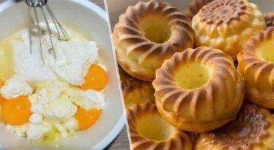 Воздушные сырники в духовке на сметане: просто волшебные на вкус
