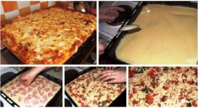 Всегда пеку пиццу по этому рецепту — получается просто объедение