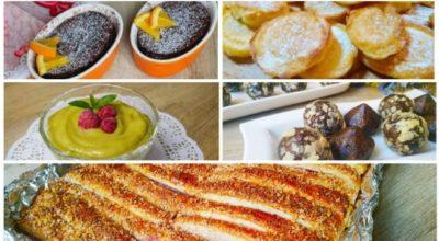 5 рецептов сладостей за 5 минут