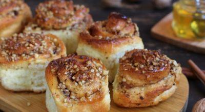 Ароматные булочки с медом: невозможно остановиться