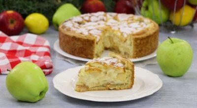 Цветаевский заливной яблочный пирог