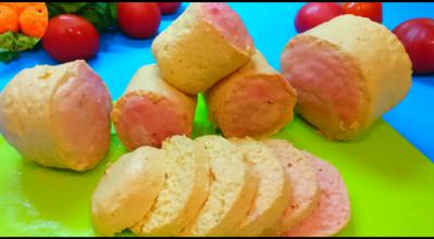 Домашняя колбаса в кружке