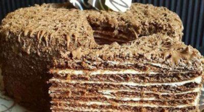 Итальянский ореховый торт просто сводит с ума. Настолько он вкусный и нежный