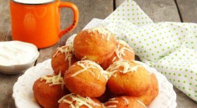 Картофельные пончики с ветчиной: это очень вкусно