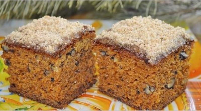 Как приготовить вкусный домашний пирог с вареньем