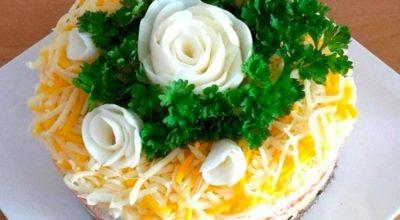 Обалденный салат «Шаланда». Вкусно и оригинально