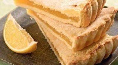 Очень нежный вкусный лимонный пирог
