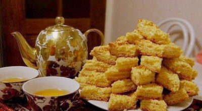Печенье Каракум нежное, простое в приготовлении песочное печенье