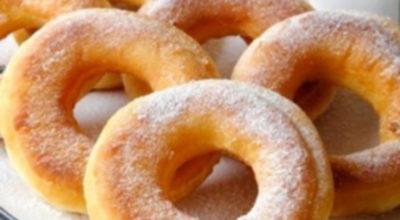 Пончики на кефире за 15 минут. Идеальное угощение к чаю