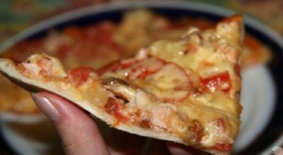 Рецепт ресторанной пиццы. Теперь и у меня получается легкий и тонкий корж
