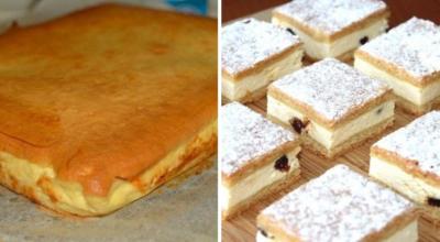 Рецепт вкуснейшего пирога с творожным кремом
