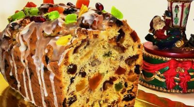 Изумительно вкусный, необычайно красивый, ароматный кекс с изюмом и сухофруктами